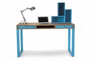 Easy desk 01, Scrivania con cassetti