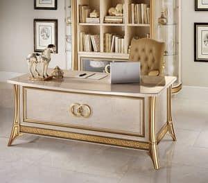 Melodia scrivania ufficio, Scrivania classica, per uffici di lusso