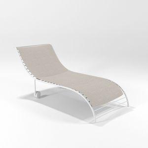 Duna, Chaise longue in ferro per piscine