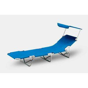 Lettino mare sdraio alluminio pieghevole spiaggia parasole VERONA LUX - VE800LUX, Lettino da mare pieghevole in alluminio