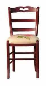 Val�rie BR.0202.T, Sedia con sedile in tessuto