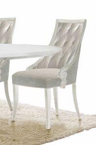 Giulietta Art. 3622, Elegante sedia da pranzo