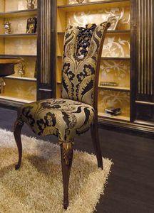 Royal sedia, Sedia classica da pranzo, con prezioso intaglio