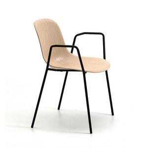 M�ni Wood 4L AR, Sedia con braccioli