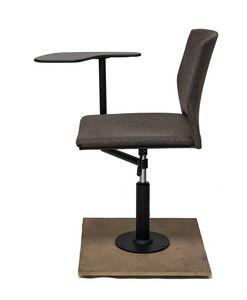 TREK 040/FTAB, Seduta girevole con tavoletta scrittoio