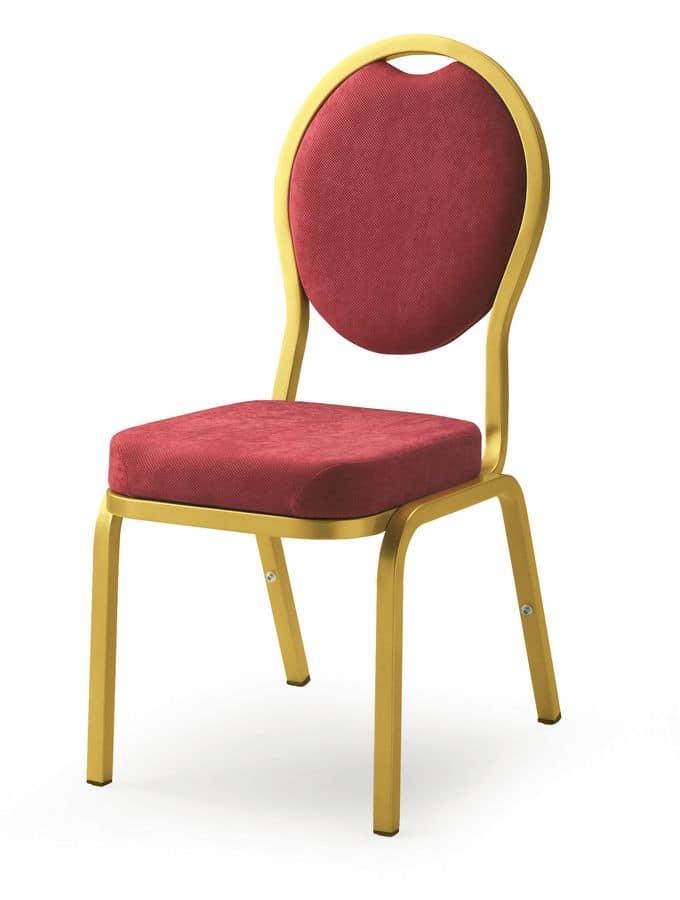 Como 65/4, Sedia per uso banchetti, conferenze e riunioni in alberghi