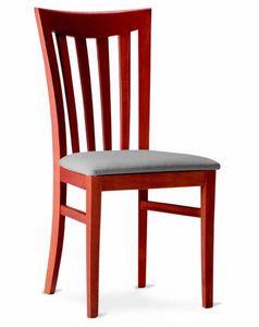 221 Demetra, Sedia per ristorante, seduta imbottita