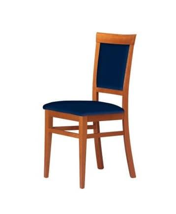 C08, Sedia in legno di faggio, per soggiorni e ristoranti