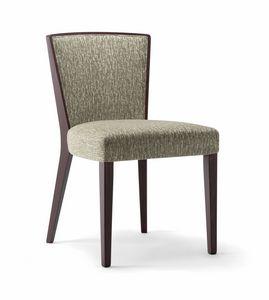 LONDON SIDE CHAIR 016 S, Comoda sedia in legno
