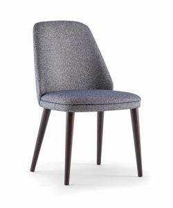 MEG SIDE CHAIR 071 S, Comoda e raffinata sedia per ristorante