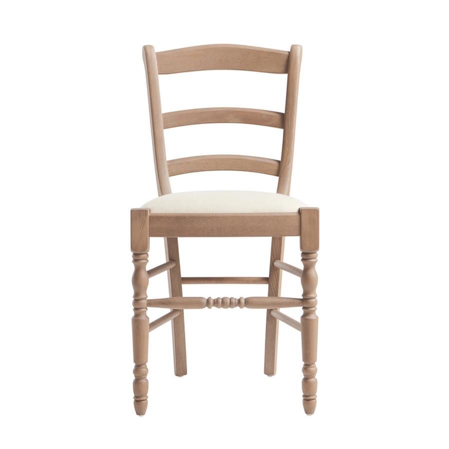 RP43F, Sedia in legno per ristorante