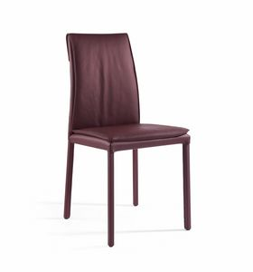 Agor�, Sedia con cuscino imbottito, rivestimento personalizzabile