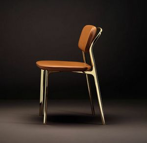 Coast Chair, Sedia dal mix di linee rigorose e morbide