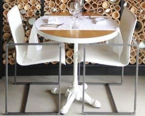 Art. 56/18, Comoda sedia con braccioli, per ristoranti eleganti