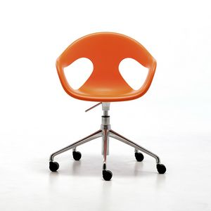 Sunny HO, Poltroncina home-office, girevole e regolabile in altezza, per ufficio