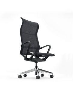 Evolution A, Sedia ufficio in rete, con schienale alto