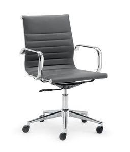 UF 598 / B, Sedia con schienale basso per ufficio