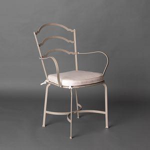 ARCHI GF4013CH-B, Sedia in ferro per esterno, color tortora