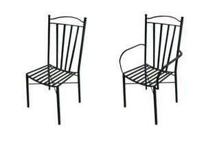 Ravello, Sedia in ferro da giardino