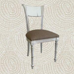 2245 SEDIA, Sedia in legno, stile inglese