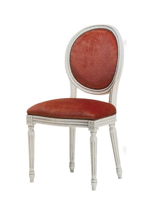 1054, Sedia in stile classico, per sala conferenze elegante