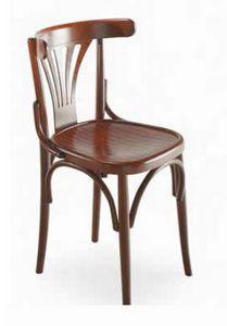 Strauss, Sedia in legno curvato, stile viennese