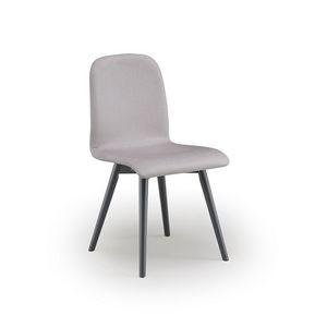 Ciao-W3, Sedia in legno imbottita