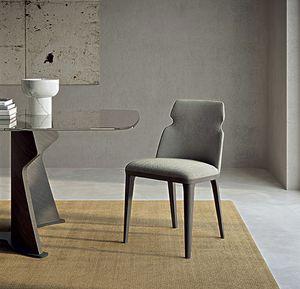 SE60 Shape sedia, Sedia da pranzo imbottita