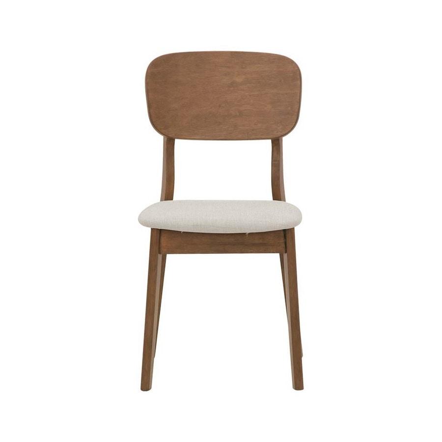 2961, Sedia in legno con seduta imbottita