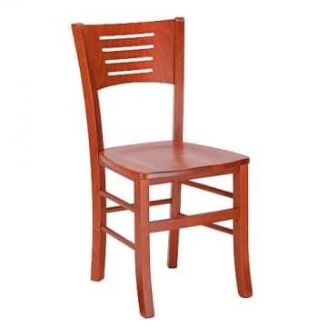 Betty, Sedia interamente in legno, per uso domestico e professionale