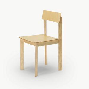 Candid, Sedia in legno dal design ricercato