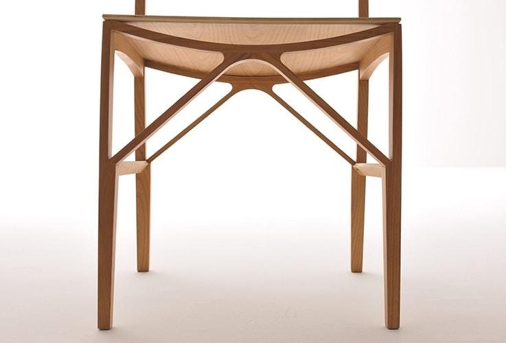 Celeste 5196/F, Sedia in legno massello di frassino