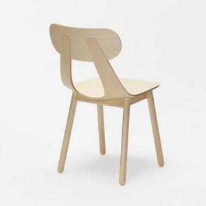 Rapa SW, Sedia moderna con gamba in legno massello