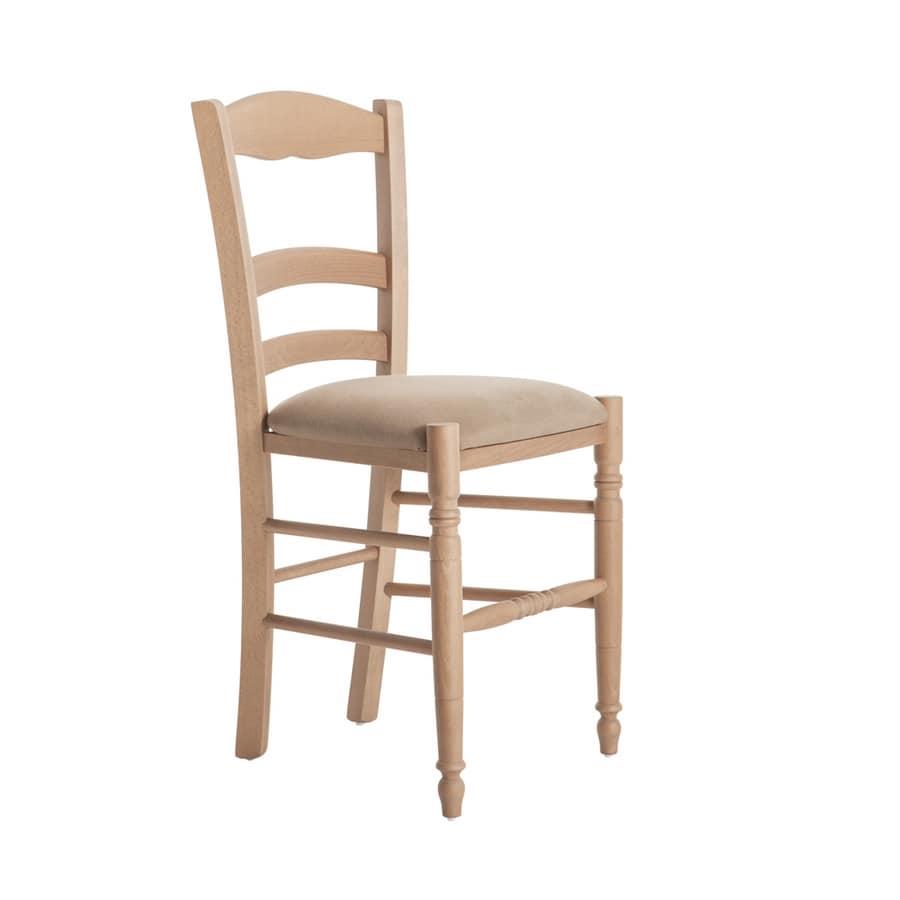 RP43D, Sedia con seduta imbottita