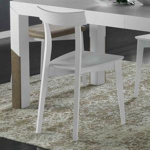 Spazio Contemporaneo SPAZE1071, Sedia in legno massello di frassino