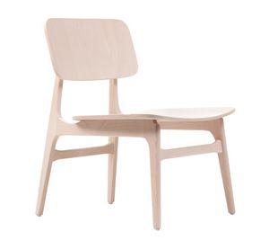 ART. 310-LE ROSE, Sedia lounge in legno