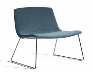 Ics 507PTN, Sedia lounge con base a slitta