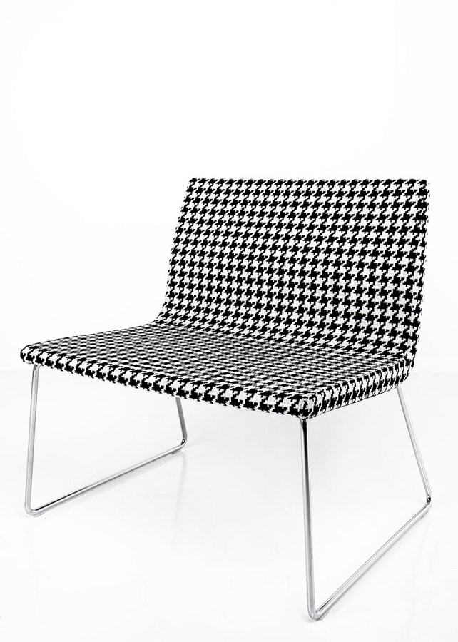 Lauryn, Sedia lounge ispirata al cubismo