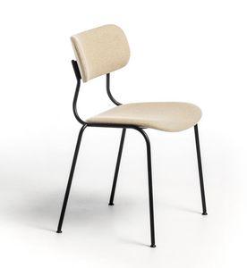 Kiyumi Fabric, Sedia impilabile con seduta imbottita