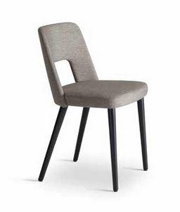 MARSIGLIA, Sedia con schienale forato