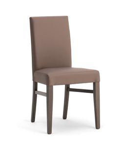 SLOT, Elegante sedia imbottita per sala da pranzo