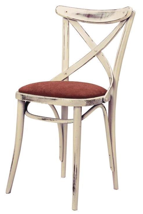 SE 431/IMB, Sedia in legno con schienale a croce