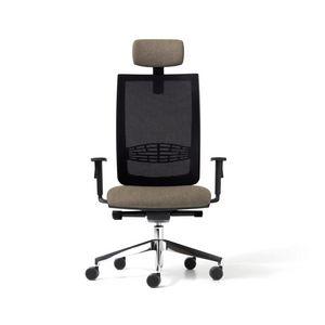Goal rete, Sedia con schienale in rete per ufficio, in vari colori