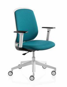 Key Smart, Sedia ufficio versatile, colorata, dinamica