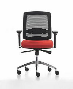 New Malice 01, Sedia operativa per ufficio, ideale per Call center
