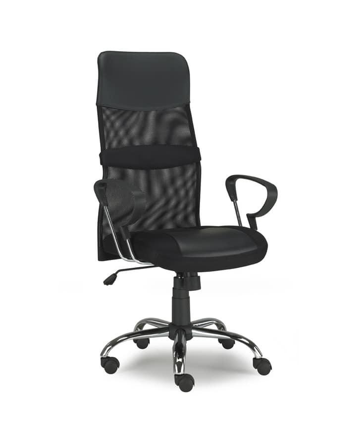 Sedia con schienale in rete, per ufficio operativo   IDFdesign