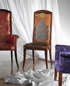 SE34E New Classic sedia, Sedia classica imbottita, a prezzo scontato
