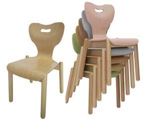 MIA, Sedia per bambini, impilabile, anatomica