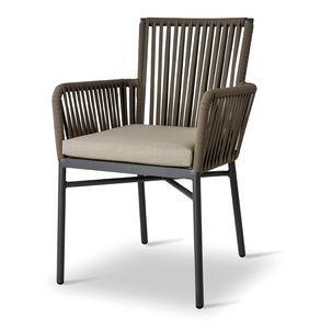 ARI, Sedia per esterni con cuscino imbottito