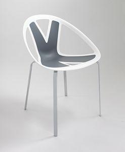 Extreme cod. 83, Sedia con seduta in materiale plastico, per esterno